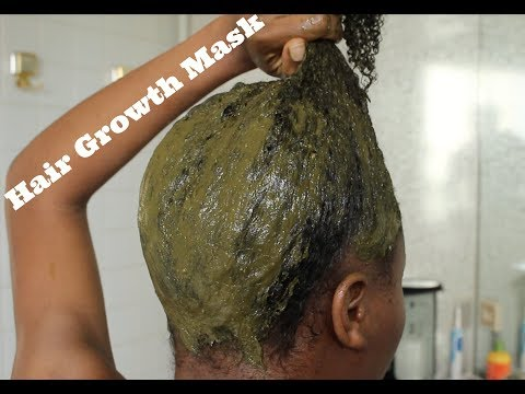 D.I.Y Ayurvedic Hair Growth Mask - Prevent Hair Fall With Green Tea & Neem Powder