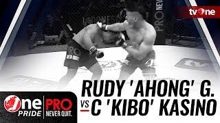 Video [HD] Rudy 'Ahong' Gunawan vs Christian 'Kibo' Kasino - One Pride Pro Never Quit #17 - Title Fight download MP3, 3GP, MP4, WEBM, AVI, FLV Juni 2018