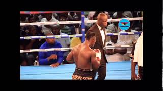 You can't believe this; Bastie Scared away the announcer with blows