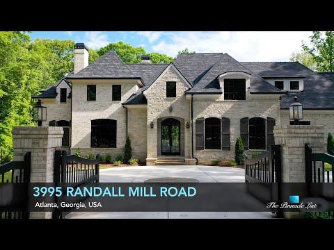 Buckhead Luxury Home   3995 Randall Mill Rd, Atlanta, Georgia, USA 🇺🇸   Luxury Real Estate