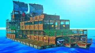 BUILDING THE BIGGEST RAFT CHALLENGE! - Raft #5