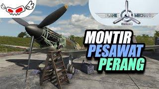 Montir Pesawat Perang - Plane Mechanic Simulator - PC Games Review