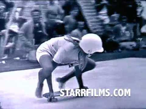 GIRLS Skateboarding 1965 Skateboard Championships