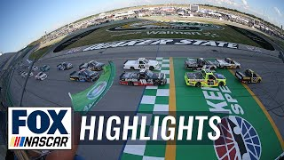 Buckle Up In Your Truck 225 at Kentucky | NASCAR on FOX HIGHLIGHTS