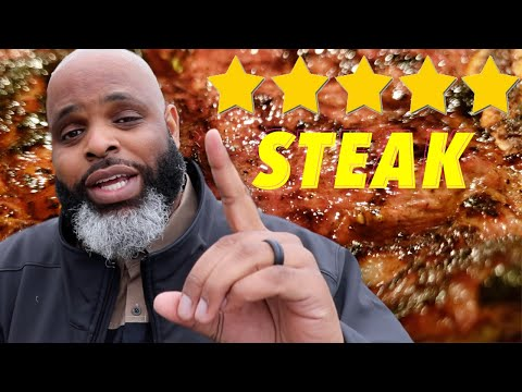 Eating At The BEST Reviewed Steakhouse In My State