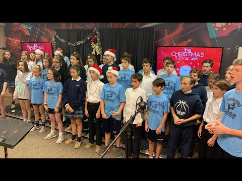 Y102.5 Christmas Live with Christ Our King Stella Maris School