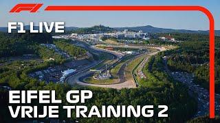 F1 LIVE: 2020 Eifel Grand Prix - FP2 | Nederlands Commentaar