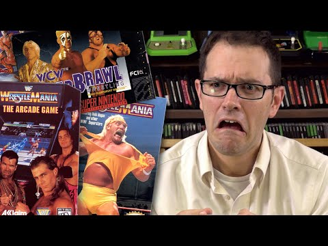 Wrestling Games - Angry Video Game Nerd