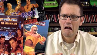 Wrestling Games - Angry Video Game Nerd (AVGN)