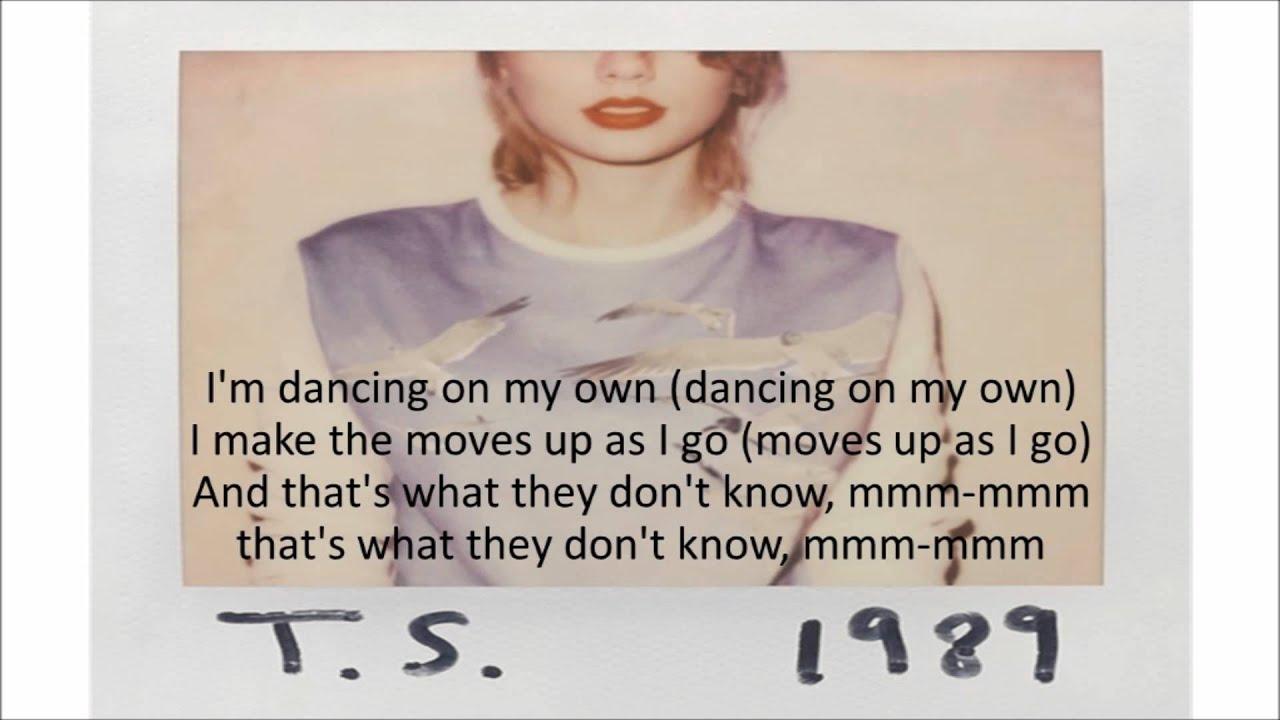 Taylor swift shake it off lyrics youtube