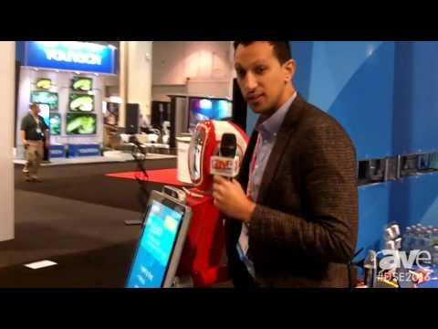 DSE 2016: 22Miles Features Very Detailed Wayfinding on Unique Kiosk Plus Mia Robot