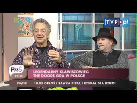 Pytanie na śniadanie - Ray Manzarek w Polsce