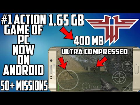 (400 MB) Return To Castle Wolfenstein Highly Compressed Apk + Data Download For Android | Hindi