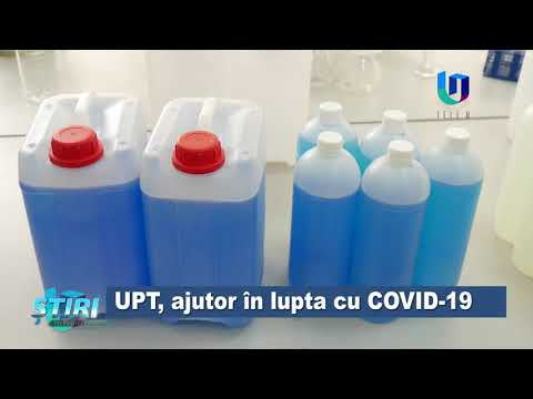 UPT, ajutor în lupta cu COVID-19