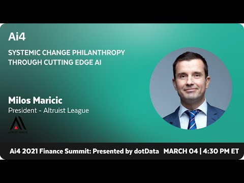 Systemic Change Philanthropy Through Cutting Edge AI