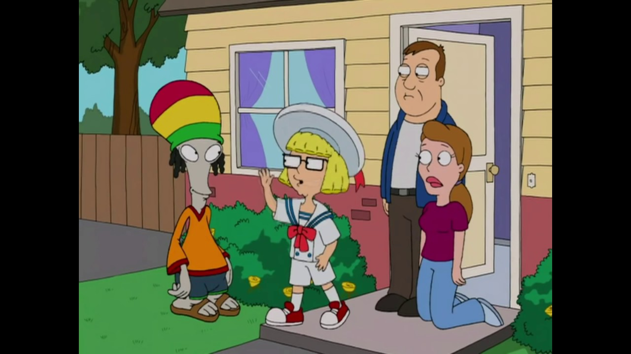 American Dad Steve Is Adopted Youtube