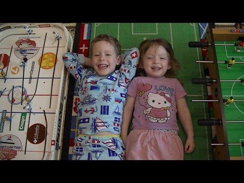 #Хоккей и футбол для детей! #Настольные игры для всей семьи!