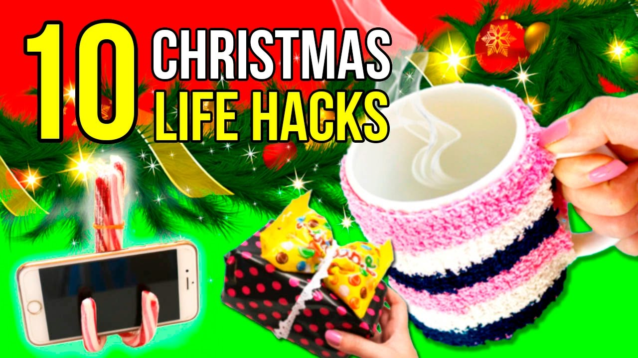 Christmas Life Hacks.Top 10 Life Hacks For Christmas Awesome Tricks Tips For Christmas