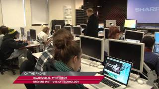 Stevens Institute of Technology: CAL Digital Media Class Featured on NJ 12