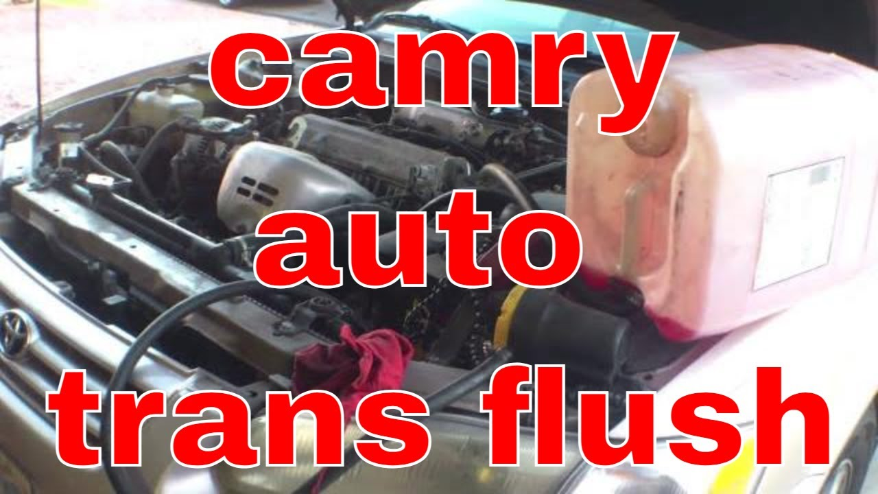 Detailed Flush Automatic Transmission 96 01 Toyota Camry Fix It Angel You