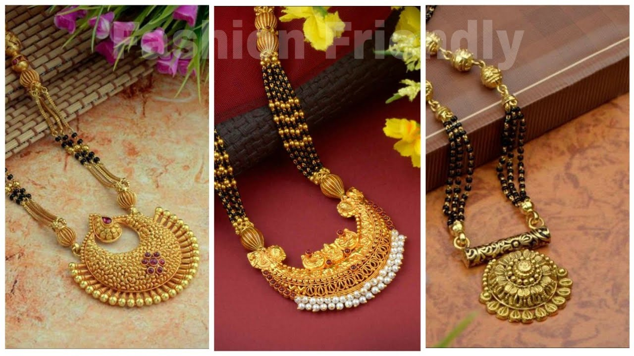 Latest Gold Mangalsutra Designs 2019 Gold Mangalsutra Designs Fashion Friendly