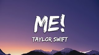 Taylor Swift - ME! (Lyrics) ft. Brendon Urie