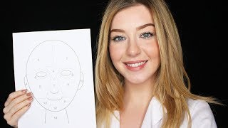 [ASMR] Face Mapping Softly Spoken
