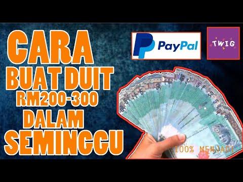 VIRAL!! TWIG - CARA BUAT DUIT RM200 - RM300 SEMINGGU 2017