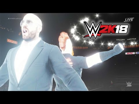Sheamus and Cesaro Entrance! WWE2K18 Exclusive Entrance |