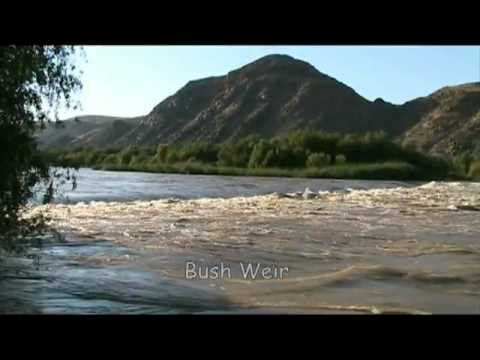 FLOATING THE ORANGE RIVER AT HIGH WATER