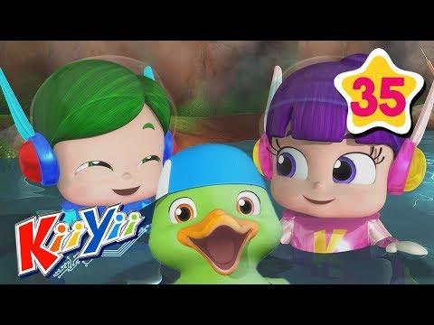 counting-5-little-ducks-|-abcs-and-123s-|-by-kiiyii-|-nursery-rhymes-&-kids-songs