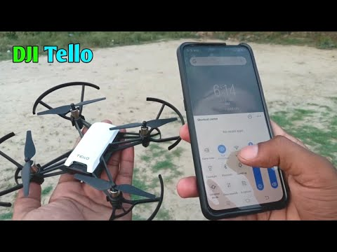 DJI Tello 5MP 720P best HD camera drone quardcopter (Unboxing & Flying Testing)
