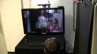 Kinect Teleconferencing with Real-time 3D Capture and 3D Display