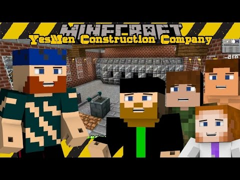 Minecraft | Yesmen Construction Company | #27 ORE PROCESSING
