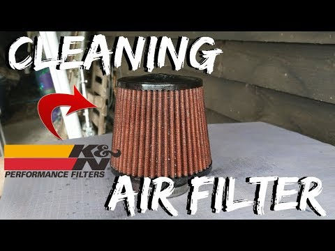 Cleaning My K&N Air Filter - My Modified MK6 Fiesta (Zetec S)