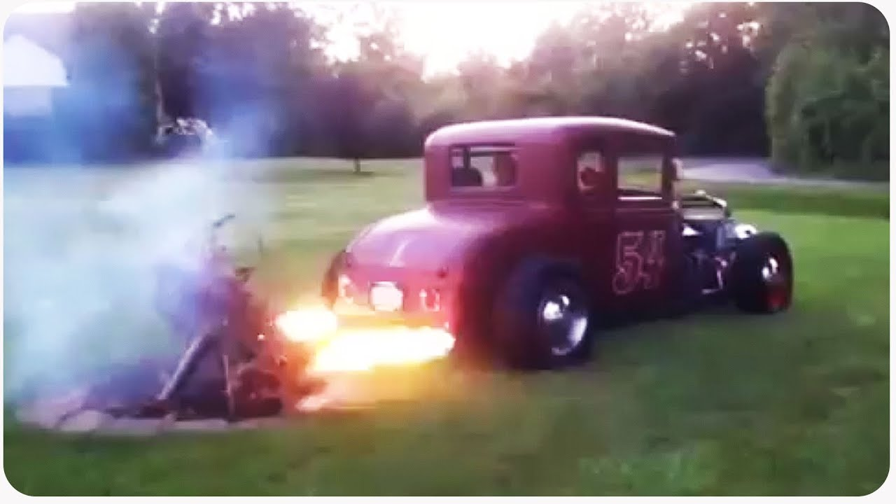 how to make flames come out of tailpipe