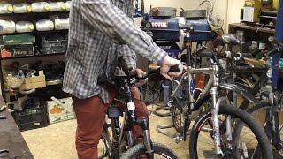 Настройка велосипеда под себя(Как правильно настроить руль, тормозные ручки и манетки переключения на велосипеде под себя. Сайт мастерск..., 2015-07-17T21:22:38.000Z)