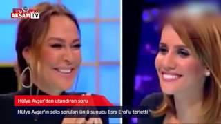 Hülya Avşar'dan Esra Erol'a şaşırtan seks sorusu