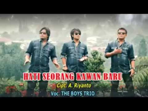 HATI SEORANG KAWAN BARU - THE BOYS TRIO POP INDONESIA VOL.1 [Official Music Video CMD RECORD]