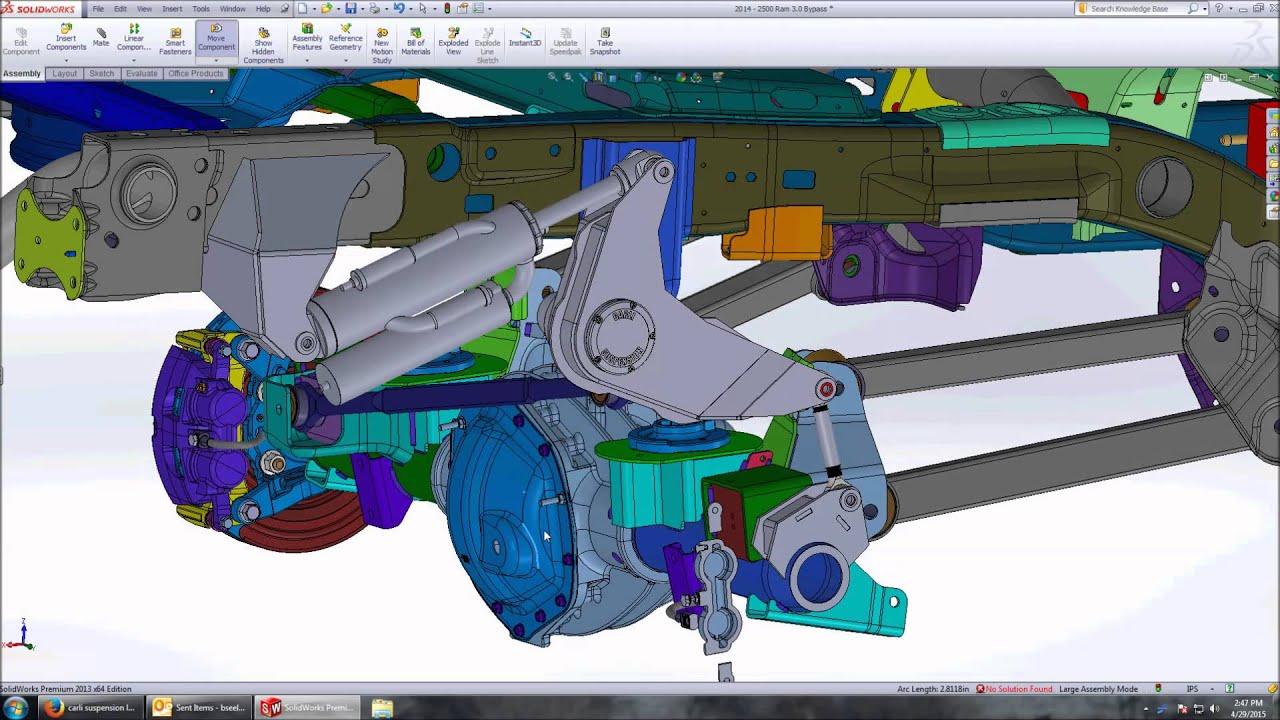 Carli Suspension 2014 Ram 2500 4x4 Cantilever Rear Shock