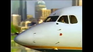 1991 East-West Airlines Commercial