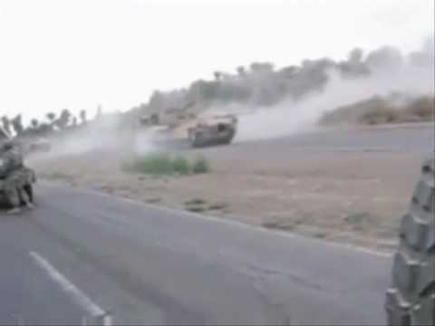 M1A1 Tanks Take Out Snipers
