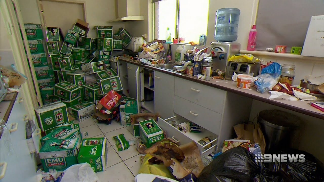 Storage Rental Perth Rental Trashed 9 News Perth