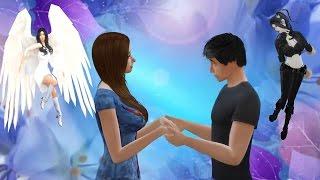 Симс 4: Между ангелом и бесом 1 серия.