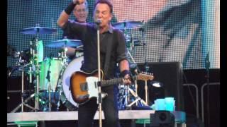 Bruce Springsteen - Tougher Than The Rest - Hampden Glasgow -  18-6-13