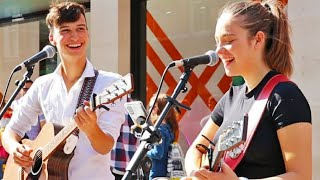 INCREDIBLE PERFORMANCE IN ITALIAN | Perfect - Ed Sheeran | Allie Sherlock & Cuan D. Cover