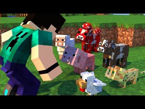 Minecraft - BEBÊS ANIMAIS!! FOFINHOS! - BABY ANIMALS MOD SHOWCASE
