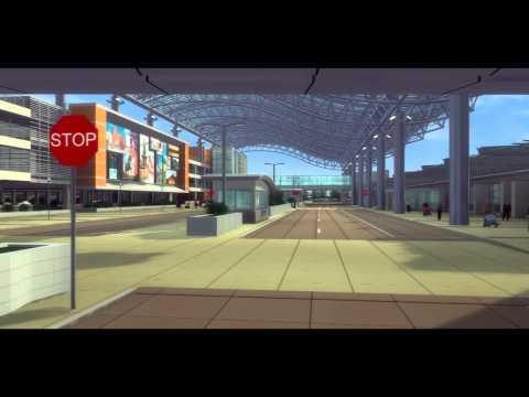 Gerald R. Ford International Airport Parking Garage Design