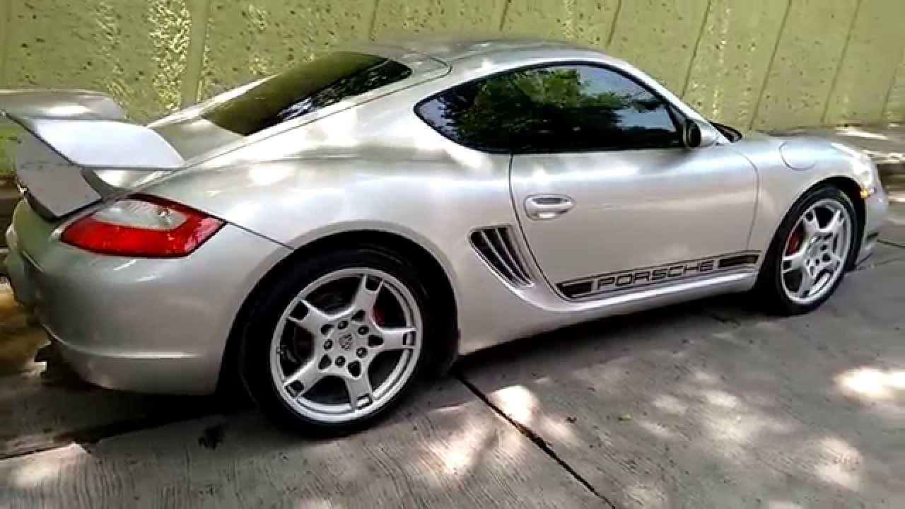 Porsche Cayman Spoiler Gt4 Amp Side Decals Stripes Boxster