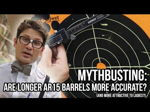Myth Busting: Are Longer AR15 Barrels More Accurate?